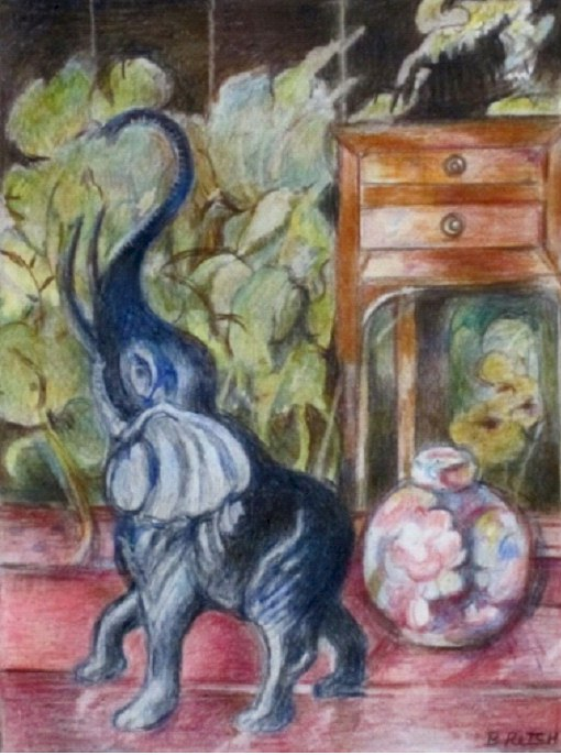 Still Life with Elephants  by Barbara Ritch