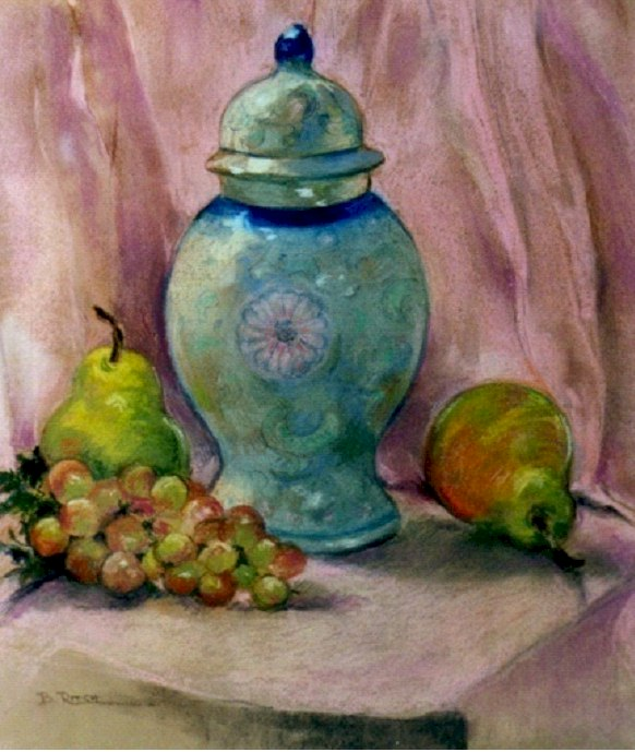 Oriental Still Life by Barbara Ritch