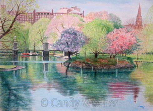 Springtime in Boston II by Candy Witcher