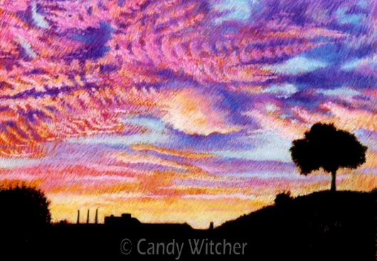 September Sunrise I by Candy Witcher