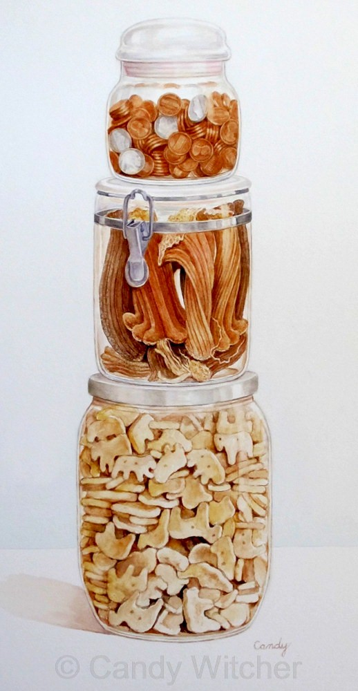 Pennies, Pumpkin Stems & Animal Crackers by Candy Witcher