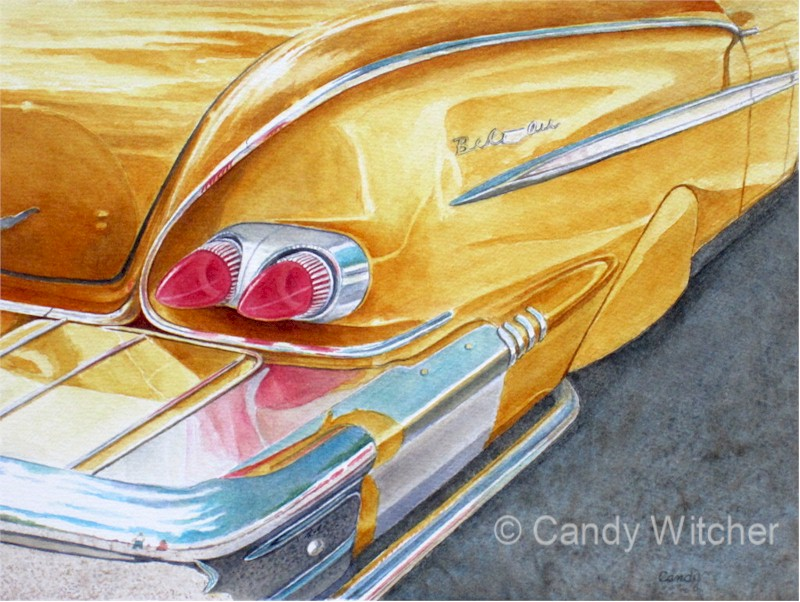 Classic Gold Bel Air by Candy Witcher