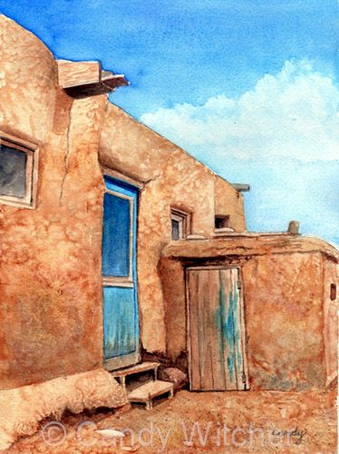 Taos Pueblo XXI by Candy Witcher