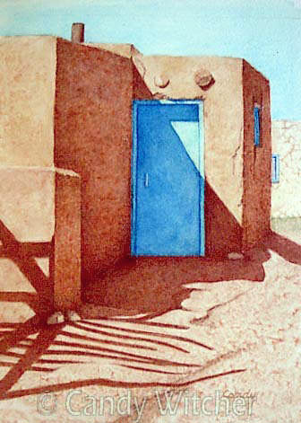 Taos Pueblo XIX by Candy Witcher